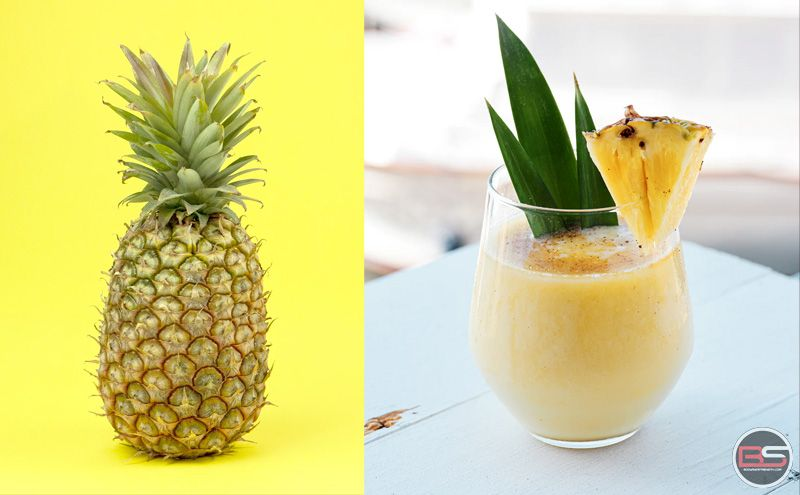 Beat the Heat with an Easy & Quick Pineapple Protein Shake