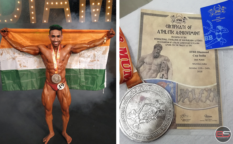 Ankit Saini: An IFBB International Diamond Cup Winner's Schedule and Achievements