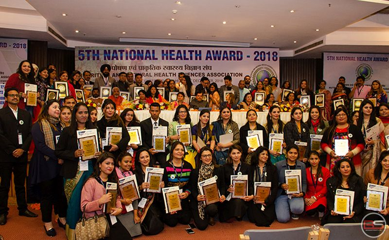 5th National Health Awards 2018 – A Congregation of Indian Nutritionists and Dietitians