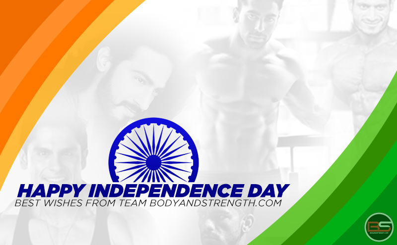 Independence Day Message from Bodyandstrength.com Fitness Icons