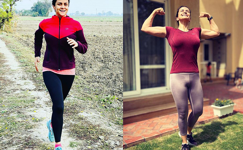 Peek-a-boo into Gul Panag's Lean Body Transformation