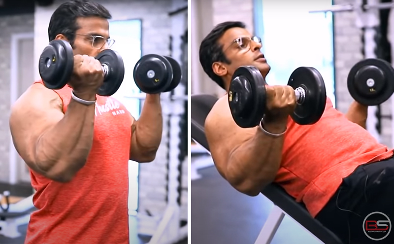 4 best dumbbell bicep workouts – by Yatinder Singh