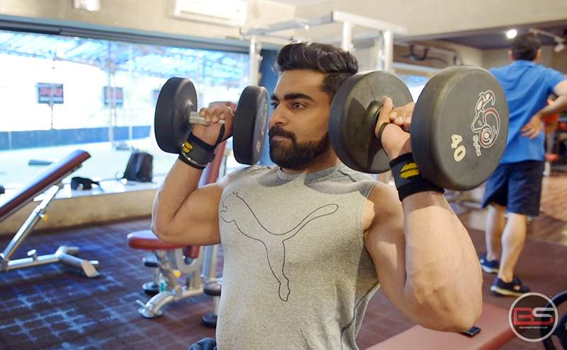 Dominate Shoulders and Triceps like Junaid Kaliwala