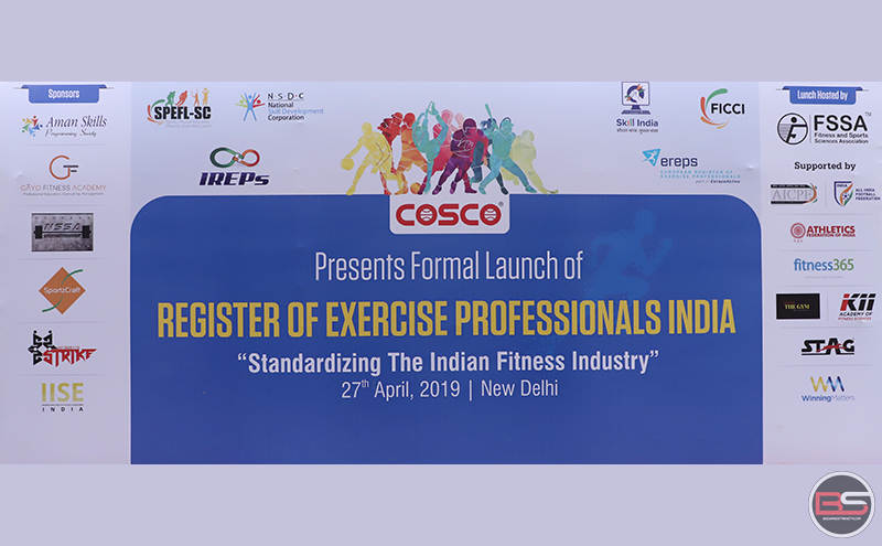 Official Launch of IREPS India at FICCI, Delhi: A Paradigm Shift in Sports and Fitness Education in India