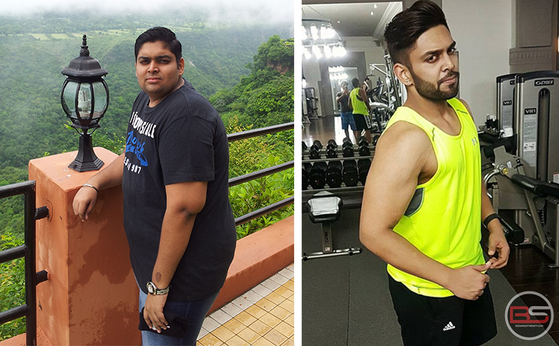 Vishal Pritmani's Tremendous Transformation from 130kg to 80kg