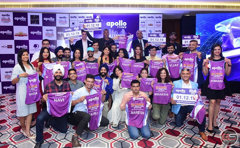 Gear up Gurugram, for the 5th Edition of Apollo Tyres Millennium City Marathon 2019