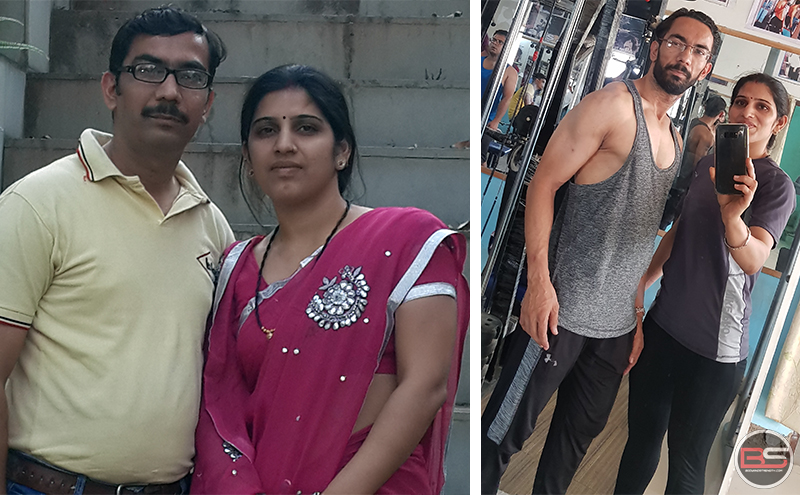 Desi Couple's Powerful Transformation: Gayatri and Aditya!