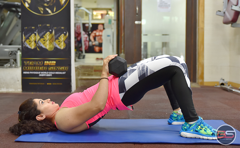 5 Exercises for Getting Awesomely Strong Glutes by Steffi D'Souza