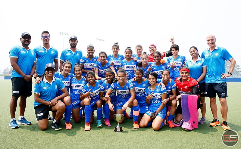 Indian Junior Women's Hockey Team win 3-Nations Tournament despite 1-2 loss to Australia