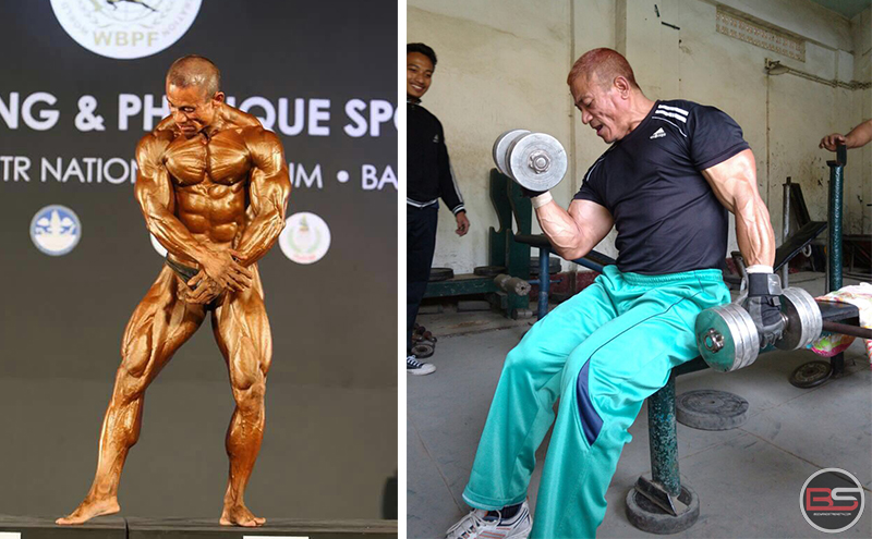Story of Pradipkumar Singh, an HIV Positive Bodybuilder from Manipur