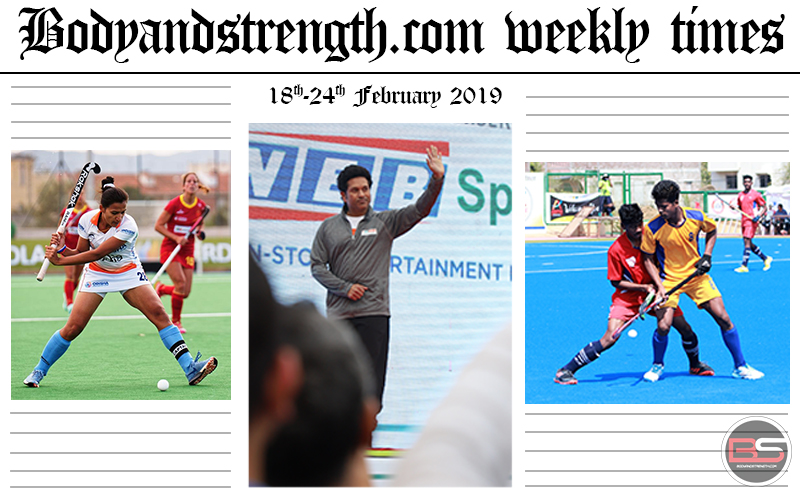 Bodyandstrength.com Weekly Times: 18th February to 24th February 2019