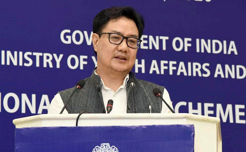 Government to Open 1000 Khelo India Centres to Employ Retired Sportspersons: Rijiju