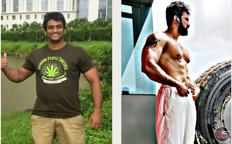 Adhish Maity: A Footballer turned Bodybuilder!