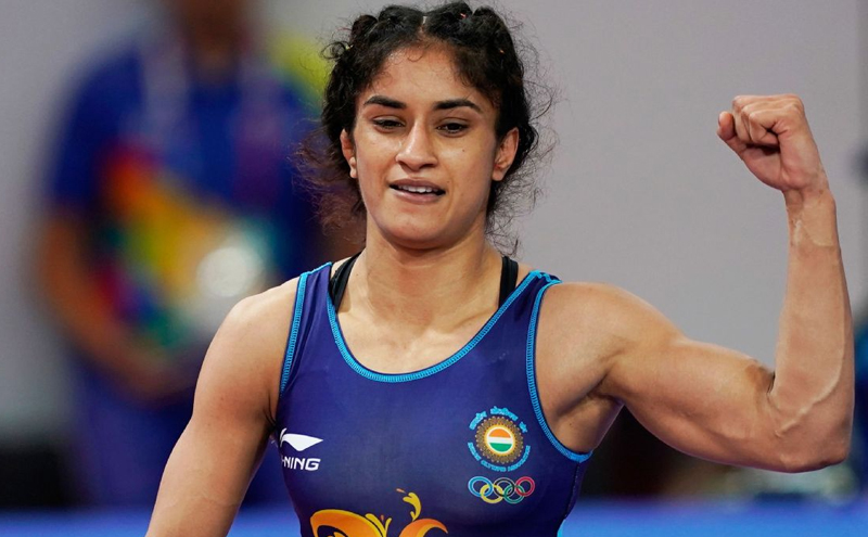 Ukraine wrestling event: Vinesh Phogat's first title in a year