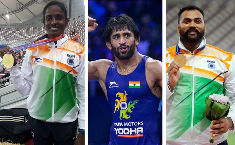 India's Feat in Asian Wrestling and Athletics Championship