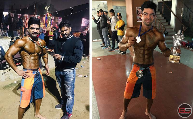 A Police Officer and An Athlete: Akash Yadav Sets a Benchmark in Bodybuilding