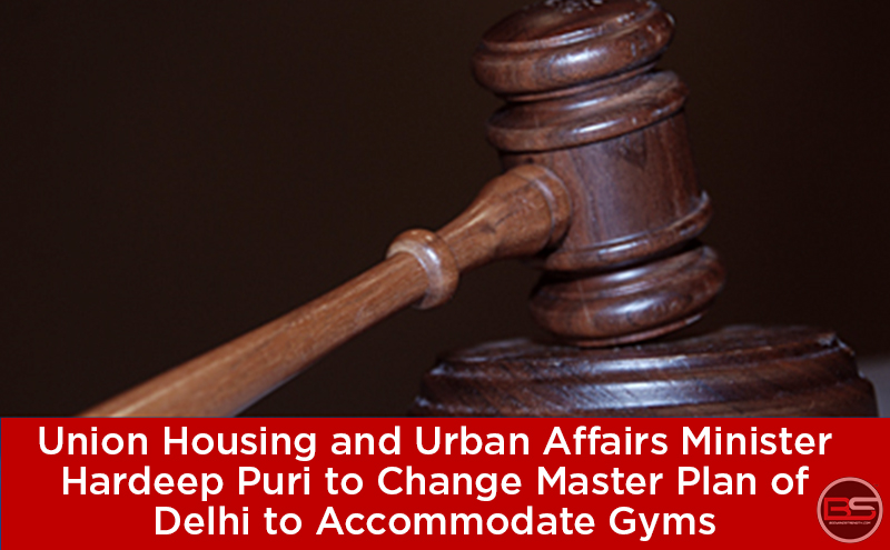 Union Housing and Urban Affairs Minister Hardeep Puri to Change Master Plan of Delhi to Accommodate Gyms
