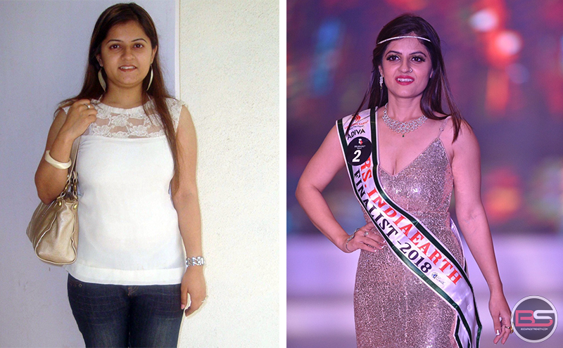 How Afreen fought post partum weight gain, Became Mrs India Earth Face of South 2018 after Childbirth