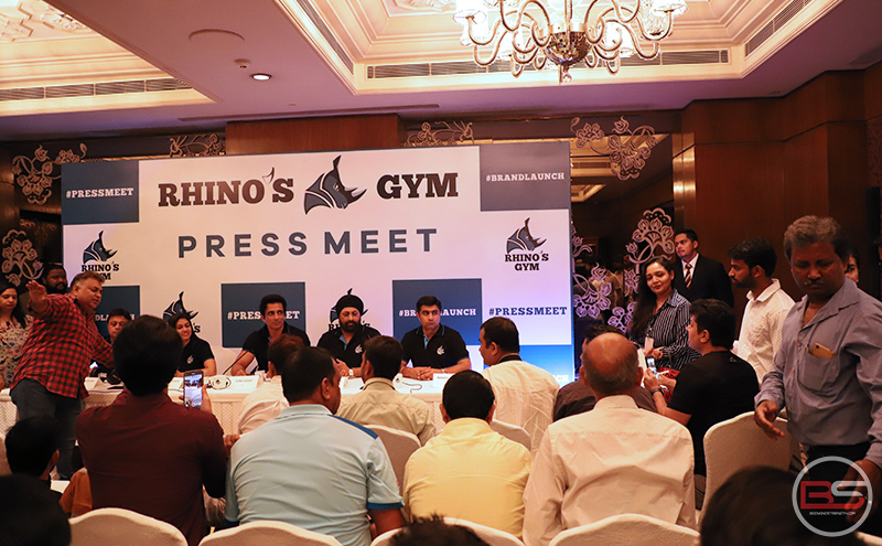 Rhino's Gym Pan India Launch at Taj Palace Hotel, Delhi