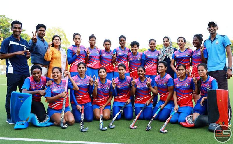 Sashastra Seema Bal win 10th Hockey India Senior Women National Championship 2020 (B Division)