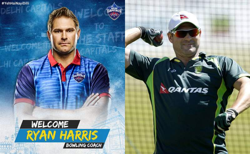 Delhi Capitals announce Ryan Harris as new Bowling Coach