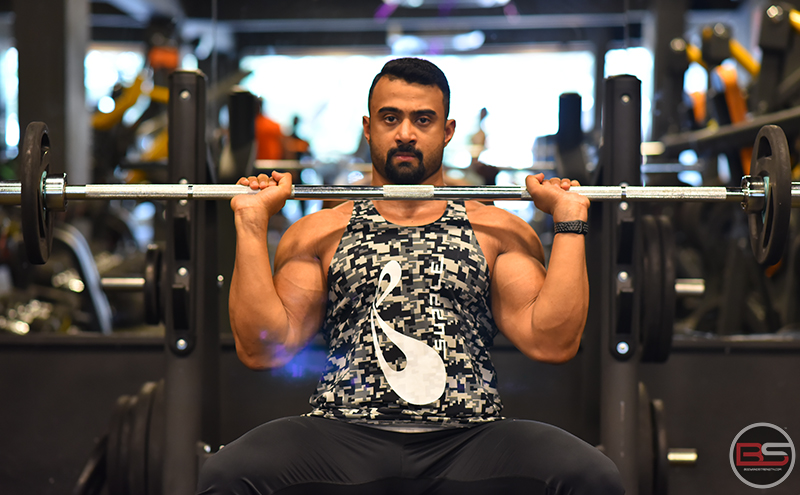 4 Mass-Building Shoulder Workouts with Arunava Bhattacharyya