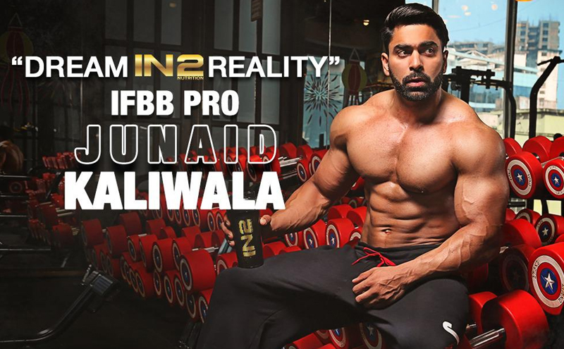 IFBB Pro and Fitness Icon Junaid Kaliwala Endorses IN2 Nutrition
