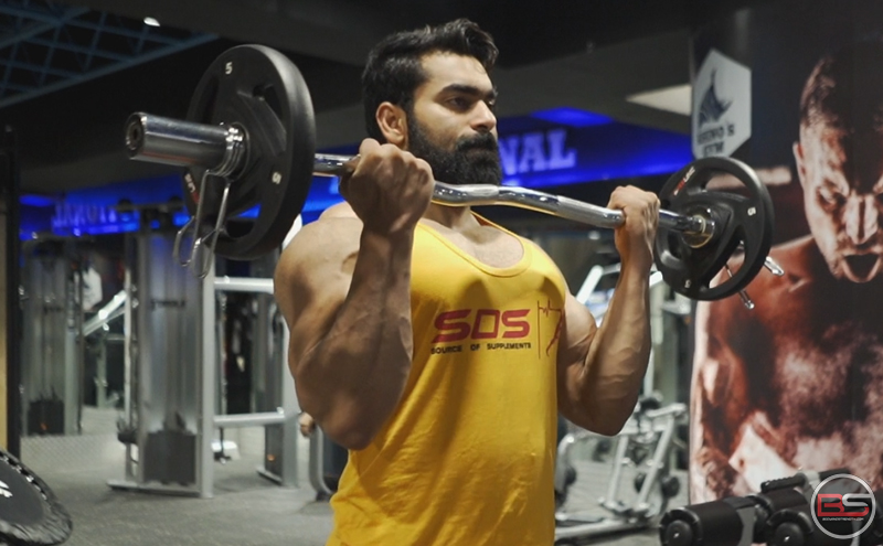 3 Moves for Bicep Growth by IFBB Pro Junaid Kaliwala