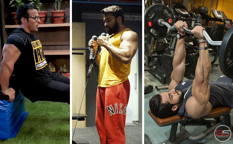 3 Supersets for Muscled Arms – Biceps and Triceps Special