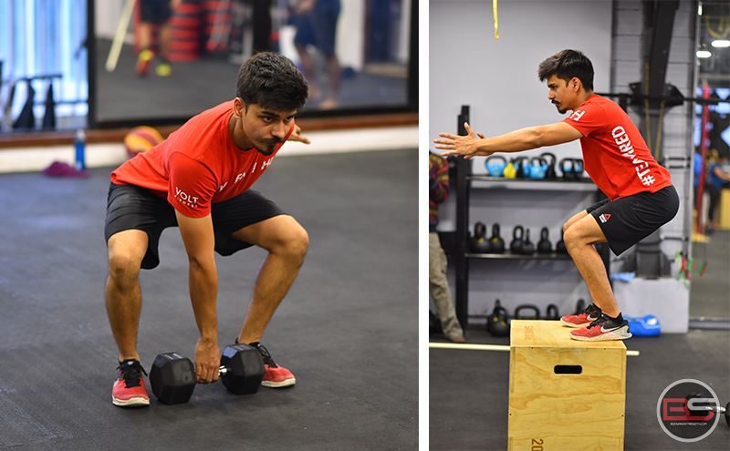 The Crossfit Classic 21-15-9 W.O.D With Anuj Srivastava
