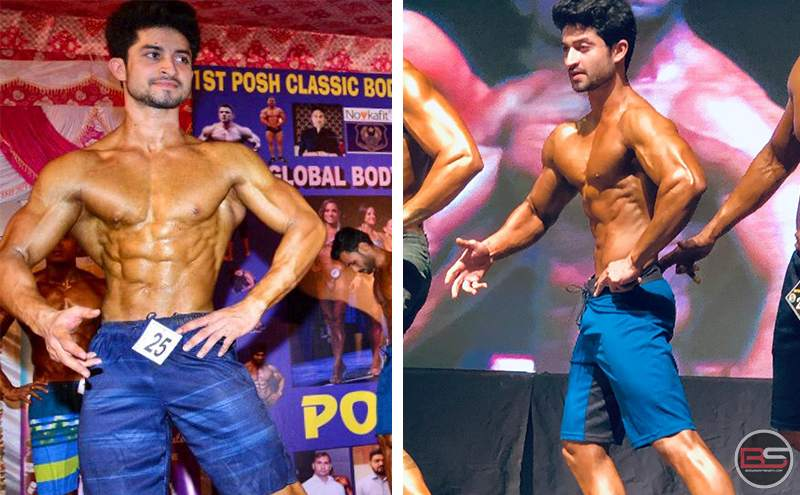 Vishal Chaudhary: A Promising Bodybuilding Athlete and Young Entrepreneur