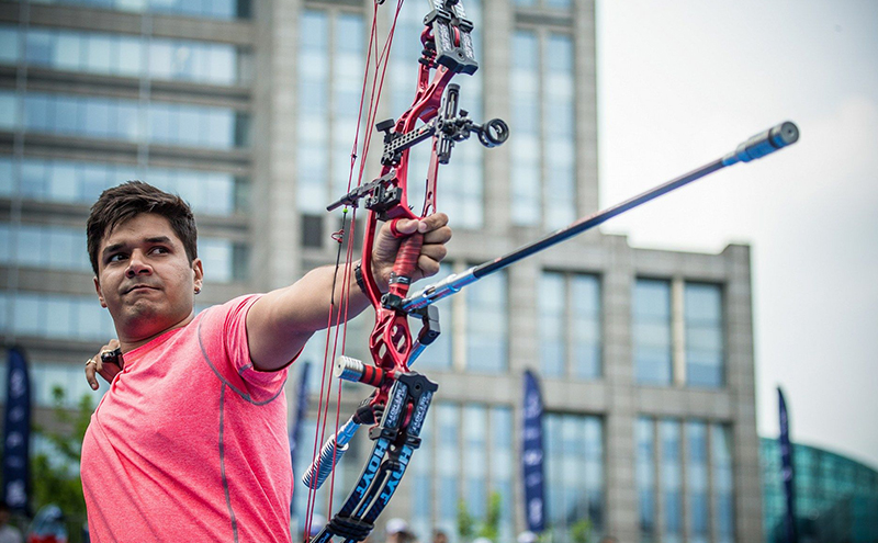 How Lawn-Tennis Player Landed up Being a Successful Archer: An Interview with Abhishek Verma