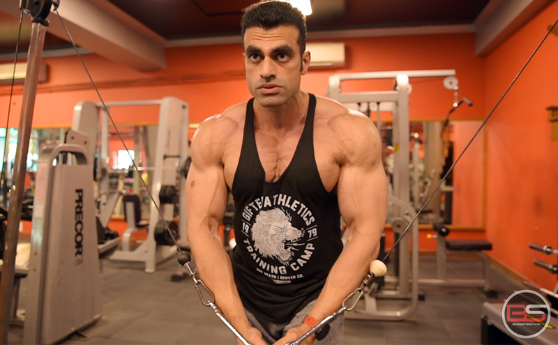 Build like Guradesh Mann – Chest, Shoulders and Triceps