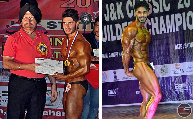 4 Times Mr J&K, Bodybuilding and Men's Physique Athlete – Akshat Gupta Inspires with his Story!