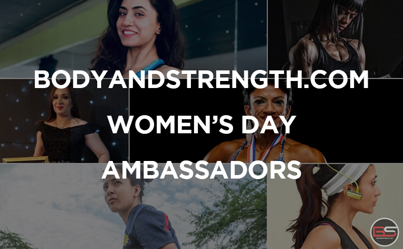 Bodyandstrength.com Women's Day Ambassadors' Bare Message