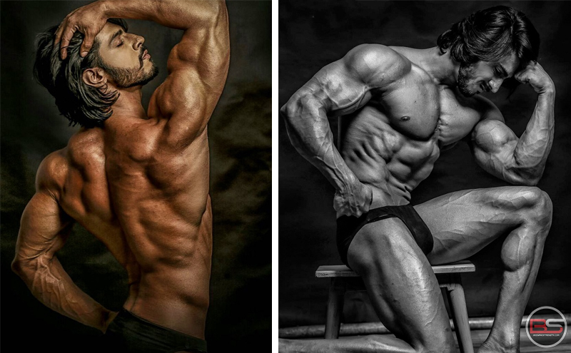 Kill it with Posing with Mr. World Thakur Anoop Singh